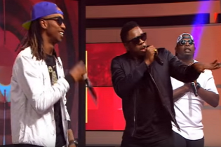 "VIDEO: RunTown & Uhuru Perform ""The Banger"" Live on SuperSport"