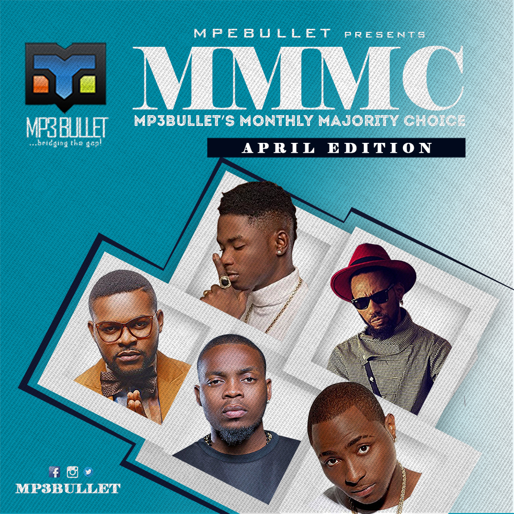 Mp3bullet's Monthly Majority Choice (MMMC) [April 2016 Edition]