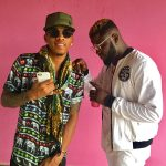 "Skales & Tekno Collaborate On A New Single ""Give Me Love"", See B-T-S Photos."