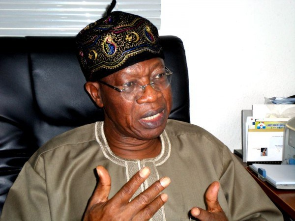 Stop Talking About War – Lai Mohammed Warns Nigerians