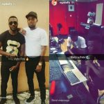 BBNaija Star, Bally Spotted With Singer, Patoranking.. Something hot is coming!