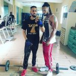 Flavour Pay A Visit To Phyno Mansion With His Beautiful Daughter, Watch Video