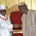 """""""Avoid Conflict & Embrace Peace"""" – Oba Of Benin Tells Gov Fayose As He Pays Him A Visit"""