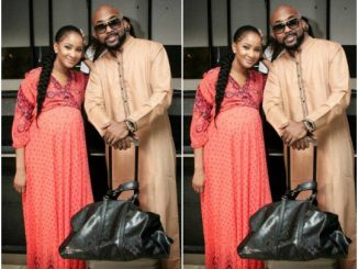 Banky W And Adesua Etomi All Loved Up In Washington DC