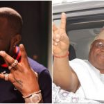 Davido Reacts To His Uncle, Ademola Adeleke's Victory Dance