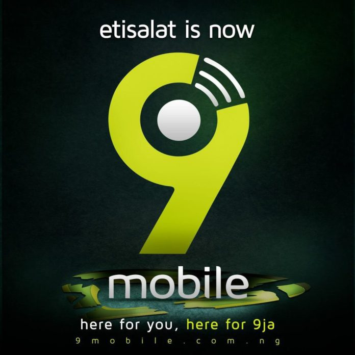 Etisalat Officially Announces 9mobile as New Name, Unveils New Logo