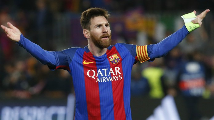 Messi Extends Contract With Barcelona to 2021