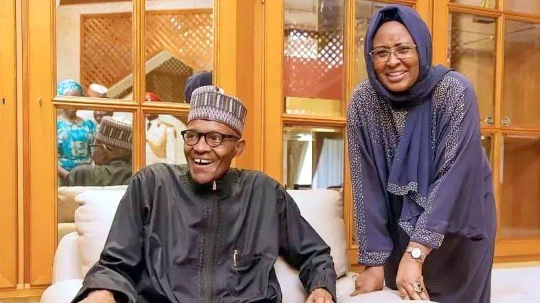 Aisha Buhari Thanks Nigerians For Continuous Prayers During Husband's U.K Stay