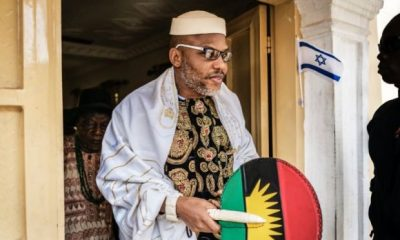 """Anyone Who Tries to Arrest Me Will Die – Nnamdi Kanu Tells President Buhari"
