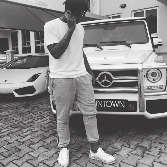 Runtown Buys Himself a Mercedes G-Wagon For His Birthday