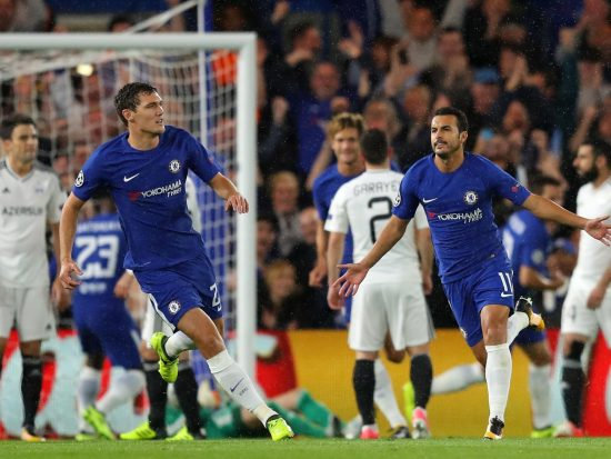 Chelsea defeats Qarabag last night, Watch Highlight