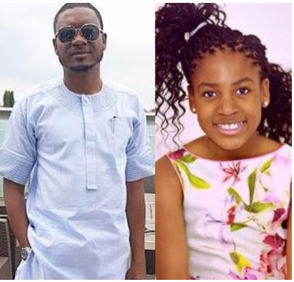 Shina Peller's 11-year old daughter goes into music