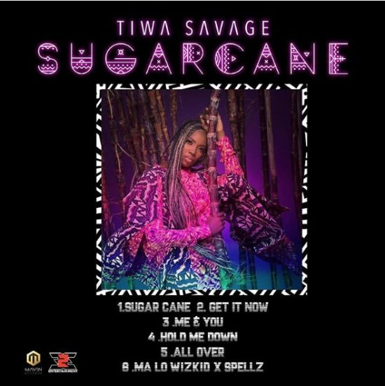 Tiwa Savage Sugarcane mp3