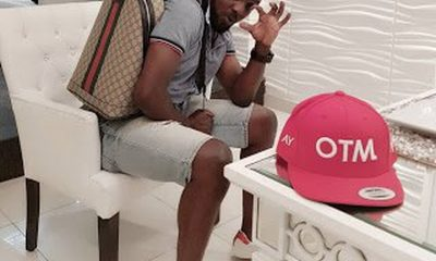 Comedian AY Poses With His Gucci Bag, Wants Hushpuppi To Confirm If It's Original, [See Inside]