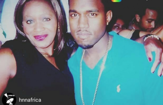 Kemi Olunloyo Curses Critics For Saying Her Picture With Kanye West Was Photo-shopped