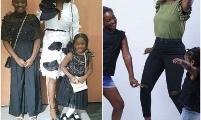Checkout Photos of Annie Idibia & her daughters
