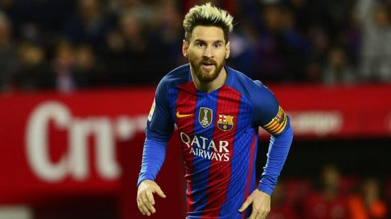 Messi is not from this world - Dembele