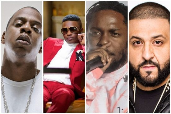Best International Act: Wizkid breaks another record as he competes with Jay Z, Drake, Kendrick Lamar, others..