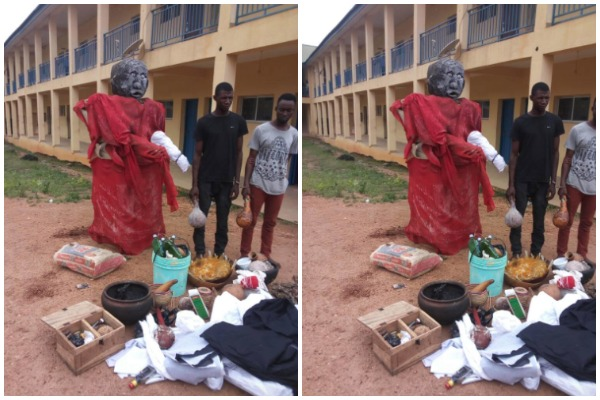 police-uncover-ritual-shrine-osun-see-shocking-photos