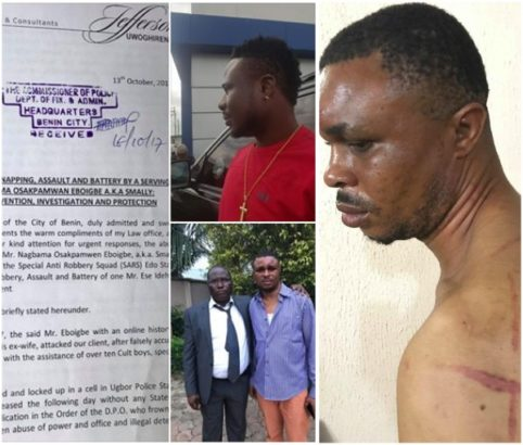 Police arrest SARS Officer who sent thugs to beat the man that sleeps with His wife