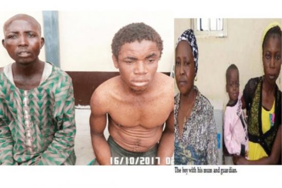 Suspected Kidnappers who sold Kid for N10,000 has been arrested