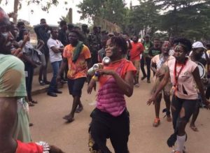 YABATECH students goes crazy as they celebrate ASDA Week