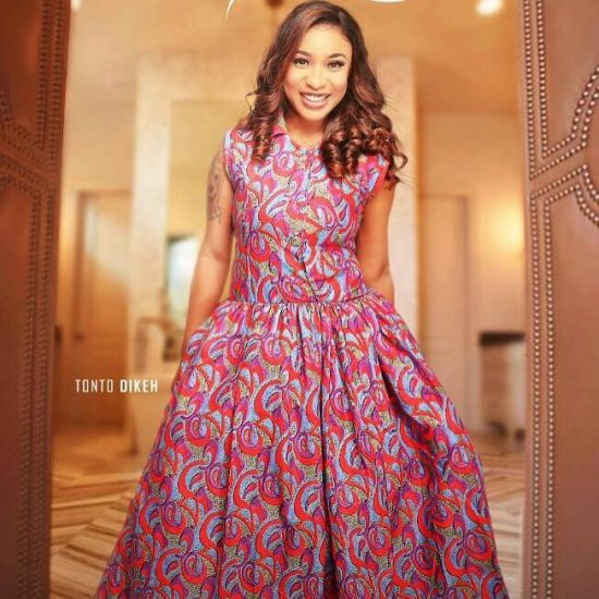 Tonto Dike looks stunning in new photos
