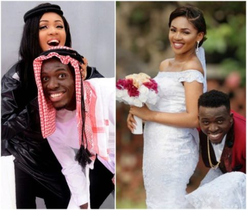 Comedian Akpororo & wife celebrate 2nd year wedding anniversary with lovely photos