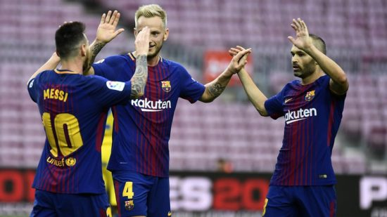 Barcelona lose two keys players to injury