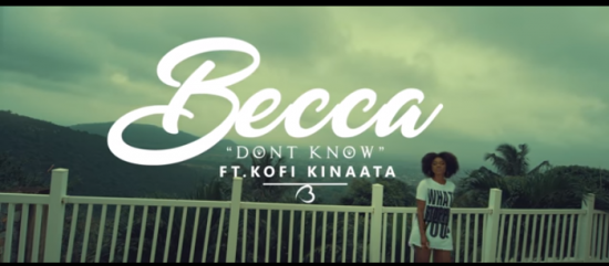 Becca ft. Kofi Kinaata – Don't Know Video