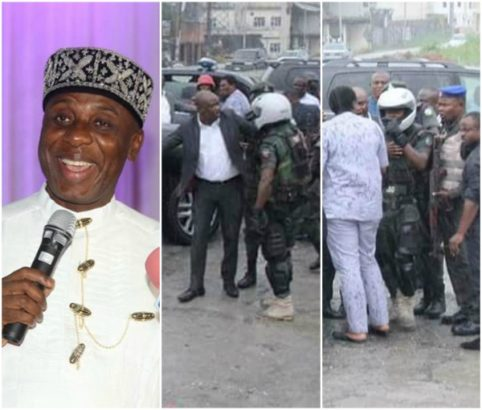 gov-wikes-convoy-reportedly-attacked-sars-officials-soldiers-attached-rotimi-amaechi-photosvideo