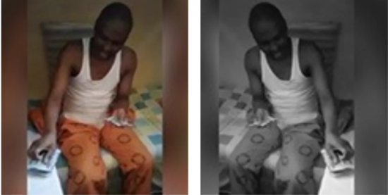 inmate-caught-counting-cash-locked-jail-causes-panic-among-prison-bosses-watch-video