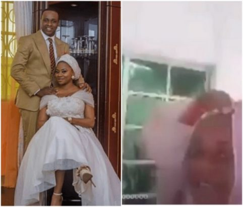 Actor Femi Adebayo's wife refollow him again, does a live video with him