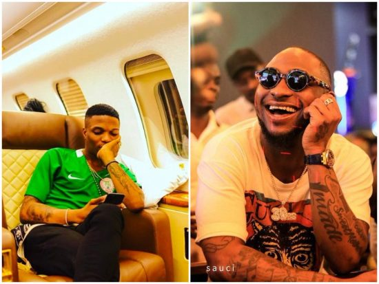 Davido & Wizkid Shoot Video for their new songs Flora my flawa & Soco respectively.