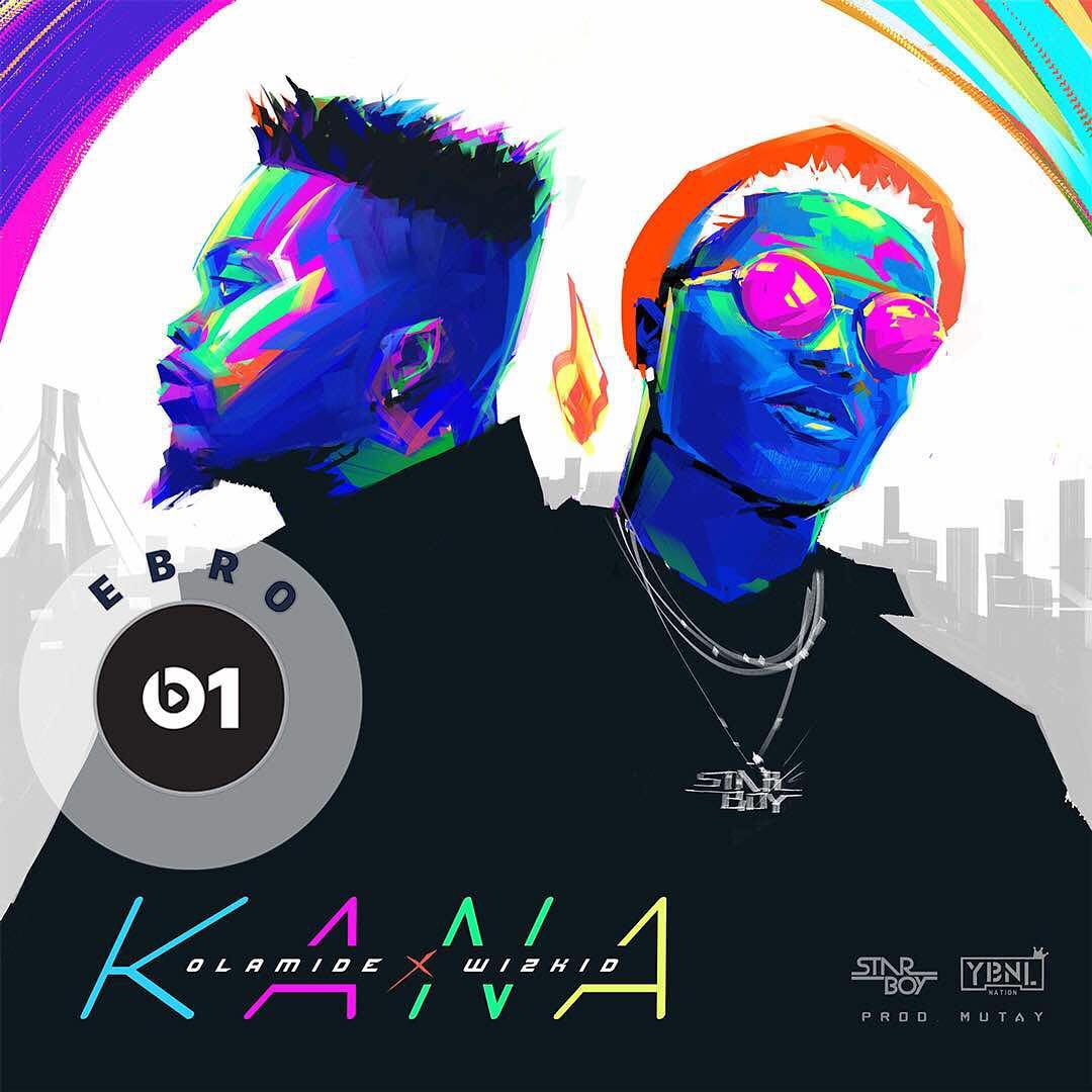 Download Olamide x Wizkid Kana Mp3 (Prod. Mut4y)