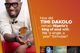 How did Timi Dakolo remain Nigeria's King of Soul with his a single, a year formulae