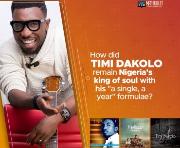 "How did Timi Dakolo remain Nigeria's King of Soul with his ""a single, a year"" formulae?"