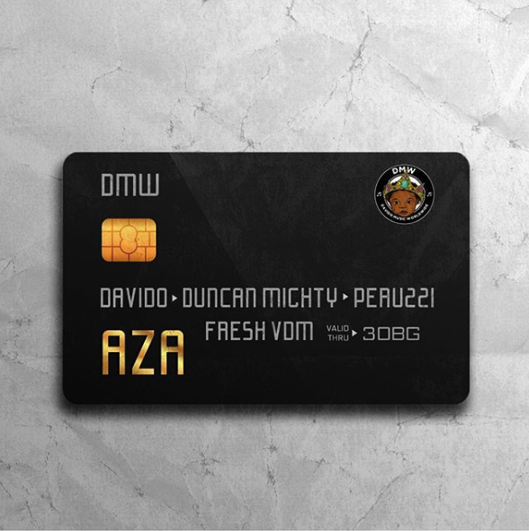 Download Davido ft. Duncan Mighty & Peruzzi  Aza Mp3 Download DMW Aza ft. Davido, Duncan Mighty & Peruzzi