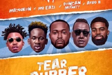 DJ Neptune Tear Rubber Remix ft. Mayorkun, Mr Eazi, Duncan Mighty & Afro B Mp3 Download