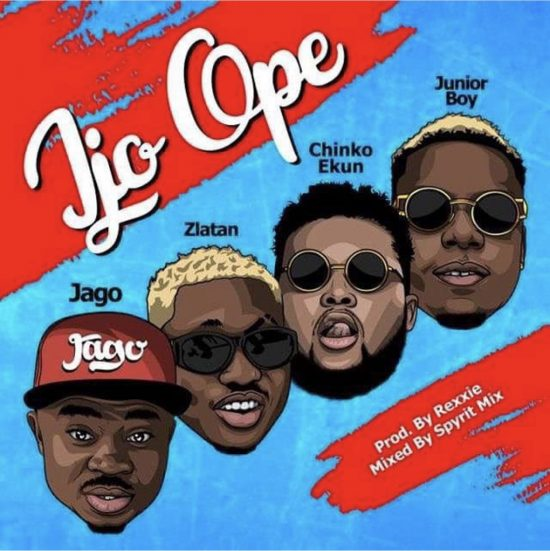 Rahman Jago Ijo Ope ft. Zlatan, Chinko Ekun & Junior Boy  Mp3 Download