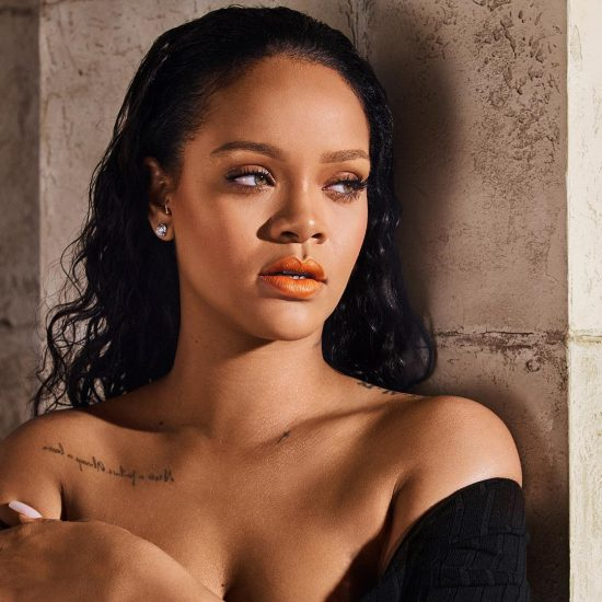 Rihanna hints on album release.