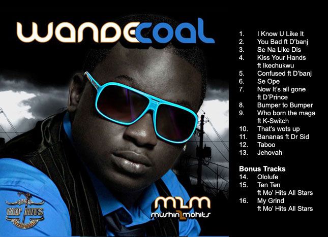 Wande Coal You Bad Mp3 Download