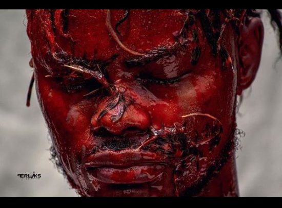 Oladips Marks New Song 'African Beauty' With Disturbing Photos.