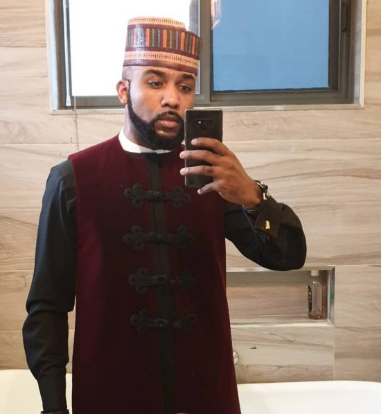 #COVID19: Banky W and Wife in Self Isolation after AMVCA News