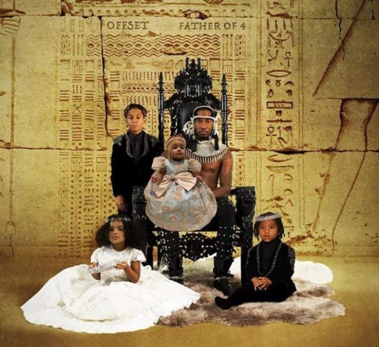 Offset & Cardi B's Baby Kulture on Cover of 'Father of 4' Album