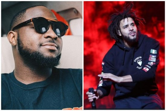 New Song Alert! Davido features American rapper, J. Cole