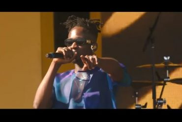 Mr Eazi Performs Let Me Live at Coachella 2019