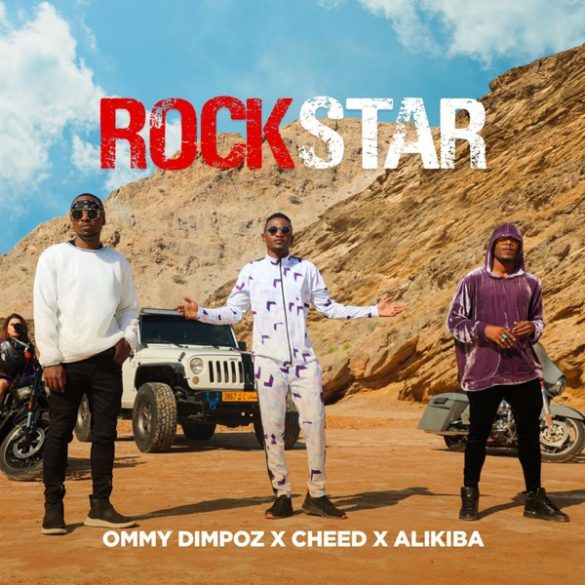 Ommy Dimpoz – Rockstar ft. Alikiba, Cheed