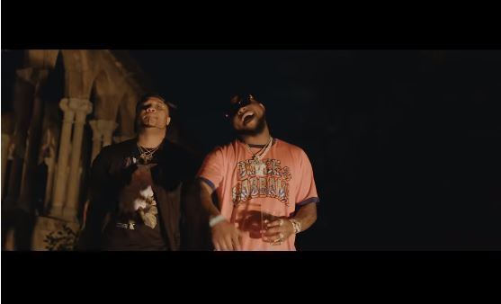 B-Red ft. Davido Achie Video