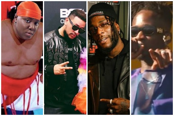 Burna Boy, Mr Eazi, Teni, AKA, others bag 2019 BET Awards Nominations.